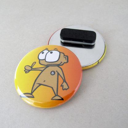 56mm Button mit Kleidungsmagnet