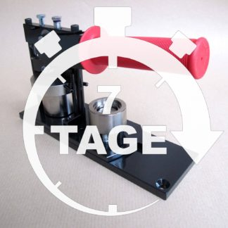 7 Tage 25mm Leih-Set Button-Maschine