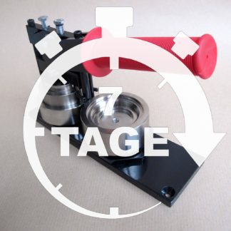 7 Tage 56mm Leih-Set Button-Maschine