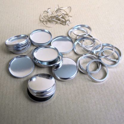 Buttonrohlinge 25mm Buttons