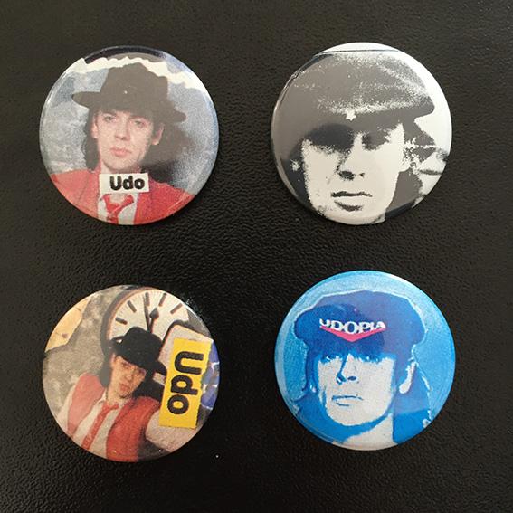 UDO Lindenberg Buttons