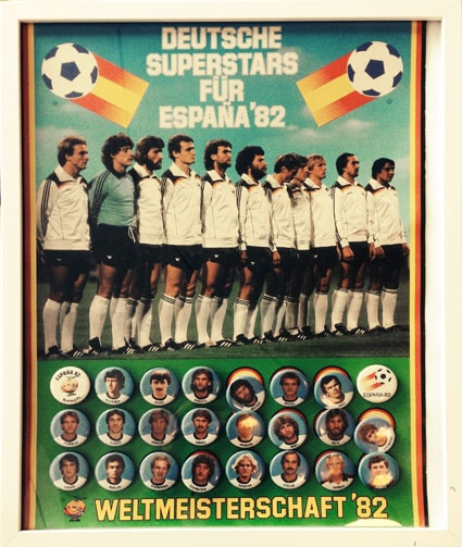 Deutsche Superstars 82 Button Sammelposter