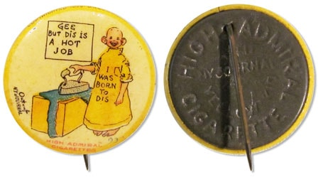 Yellow Kid Button